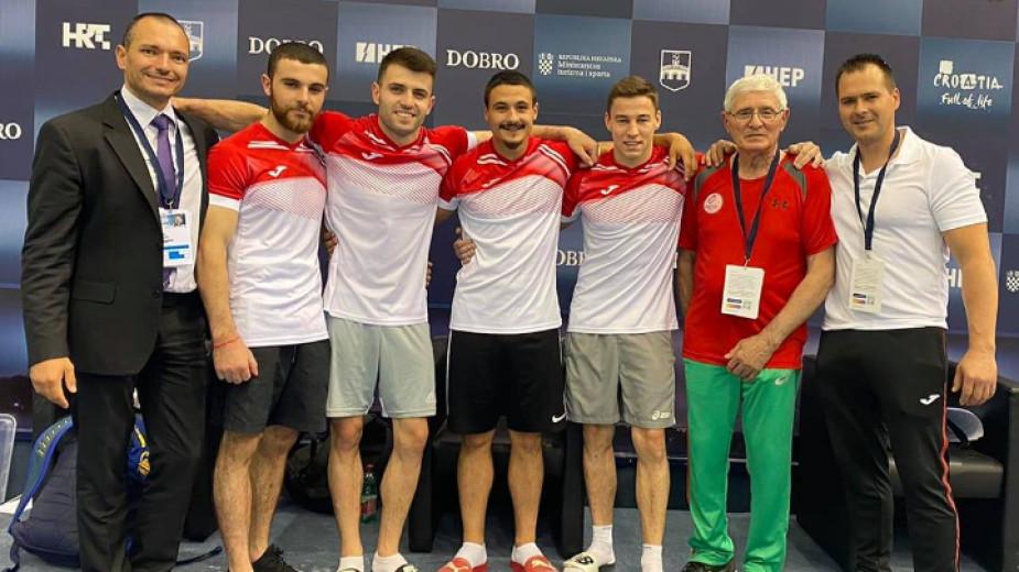 Общо три финала за българските състезатели на Световната купа по спортна гимнастика в Осиек