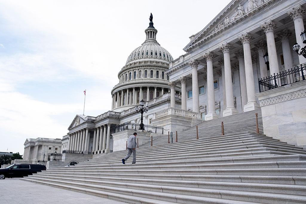 Махат от Капитолия във Вашингтон статуи на американци, свързани с робството