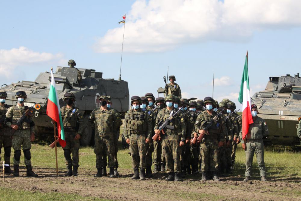 """Военнослужещи от Втора Тунджанска механизирана бригада с достойно представяне в """"SCORPIONS LEGACY 2021"""""""