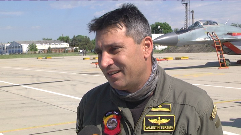 Последното интервю на майор Валентин Терзиев за Военния телевизионен канал