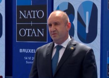 Румен Радев: Основен фактор за сигурността на всички държави в НАТО е единството