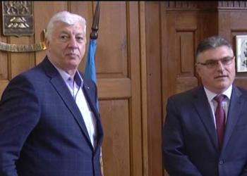 Военният министър обсъди съвместни проекти с кмета на Пловдив