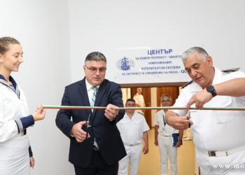 Откриха нов учебен център във ВВМУ