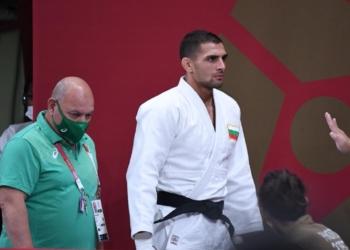 Джудистът Ивайло Иванов отпадна на осминафиналите в Токио