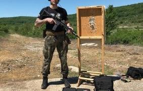 Младият офицер Никола Мерджанов мечтае да бъде държавен шампион по динамична стрелба