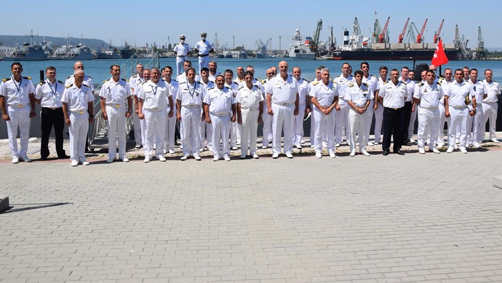 "Приключи националното военноморско учение с международно участие ""Бриз 2021"""