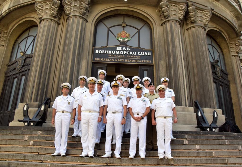 На официално посещение във Военноморските сили е командирът на ВМС на Република Италия адмирал Джузепе Каво Драгоне