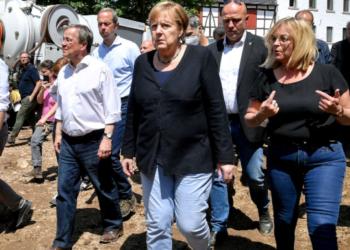 Германия отпуска 400 млн. евро за справяне с щетите от наводненията