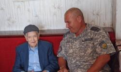 Ветеран от Втората световна война отпразнува 99-и рожден ден