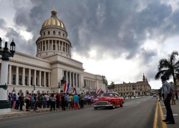 Напрежение в Куба - контрапротест на защитници на правителството