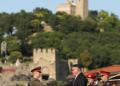 """121 курсанти от 143 випуск """"Г. С. Раковски"""" получиха първите си офицерски пагони"""