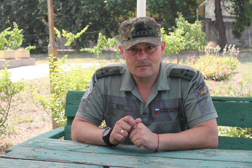 Полковник Митко Балтов:Войници имаме, трябват ни повече младши командири