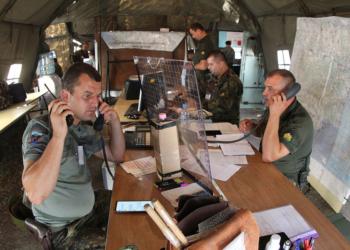 В Благоевград тренират отбрана след удари от въздуха
