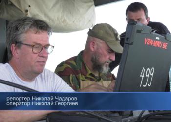 """Белгийски автономен подводен апарат обследва дъното на Черно море по време на учението """"Бриз 2021"""""""