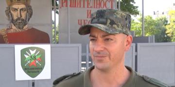 Четирима лейтенанти постъпиха на служба в 38 –и батальон Стара Загора