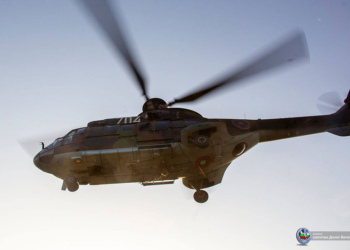 "Вертолет ""Кугар"" и днес ще участва в гасенето на горски пожар в Рила"