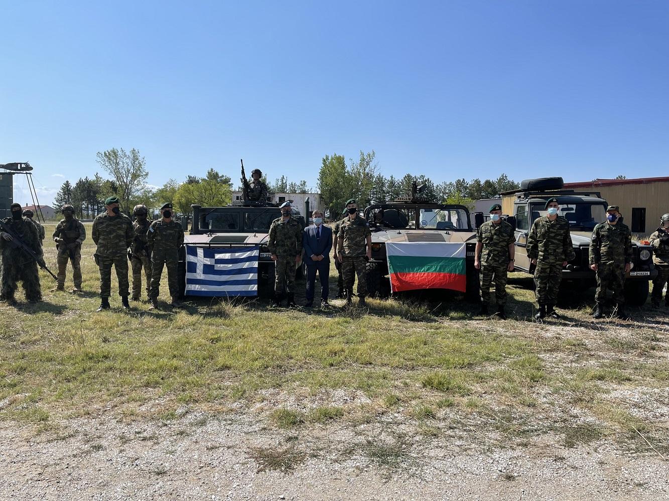 Съвместна гръцко-българска подготовка на Специалните сили