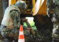 Откриха невзривен снаряд в градинката на НДК, обезвреждат го на полигона в Сливница