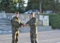Повишиха в звание военнослужещи в Националния военен университет