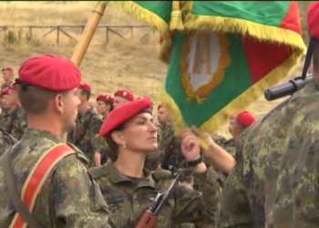 124-ма военнослужещи от 61-ва Стрямска бригада в Карлово положиха клетва