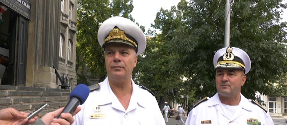 Среща на командирите на ВМС на България и Румъния във Варна