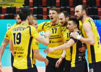 Слаба игра донесе загуба на Хебър от Шахтьор Солигорск в Шампионската лига по волейбол