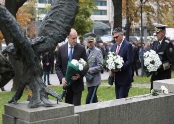 В София отбелязахме Деня на военния парашутист