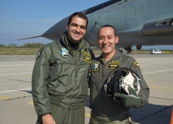 Двама летци с първи полет на МиГ-29