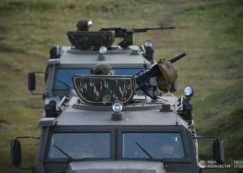 """Спецназ в Сибир за първи път унищожи условен враг с """"тигрова въртележка"""""""