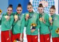 Ансамбълът със злато за Гран при в Марбея