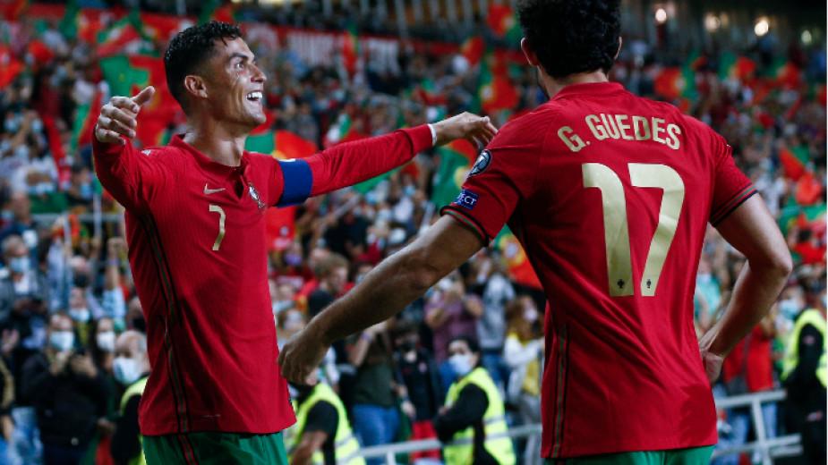 Португалия - Люксембург 5 : 0