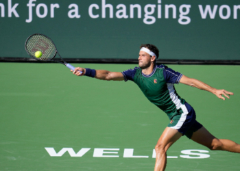 Григор Димитров победи световния номер 2 в Индиън Уелс