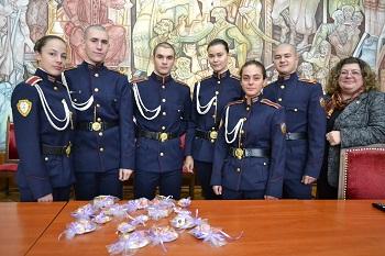 Ръчно изработени био сапуни и еко тор представиха на конференция курсантите от Националния военен университет