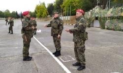 В Плевен връчиха удостоверения на новоназначени войници