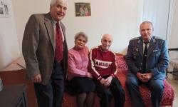 Фронтовакът Димитър Митев получи поздравления и подаръци за 98-я си рожден ден