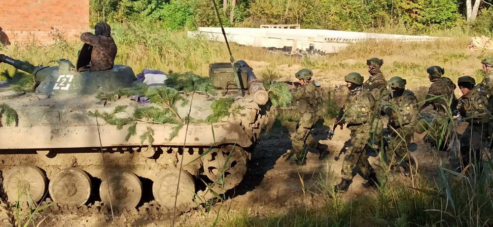 Български военнослужещи участваха в украински батальон